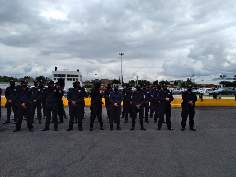 Insuficientes elementos policíacos para enfrentar problemas de inseguridad en Zamora