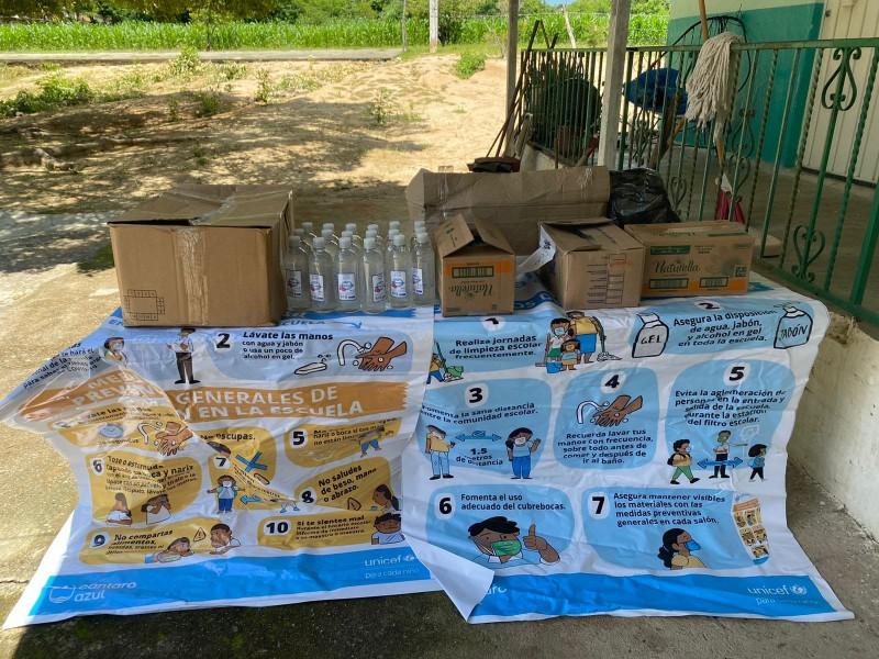 Insuficientes materiales de limpieza para las escuelas de Zamora