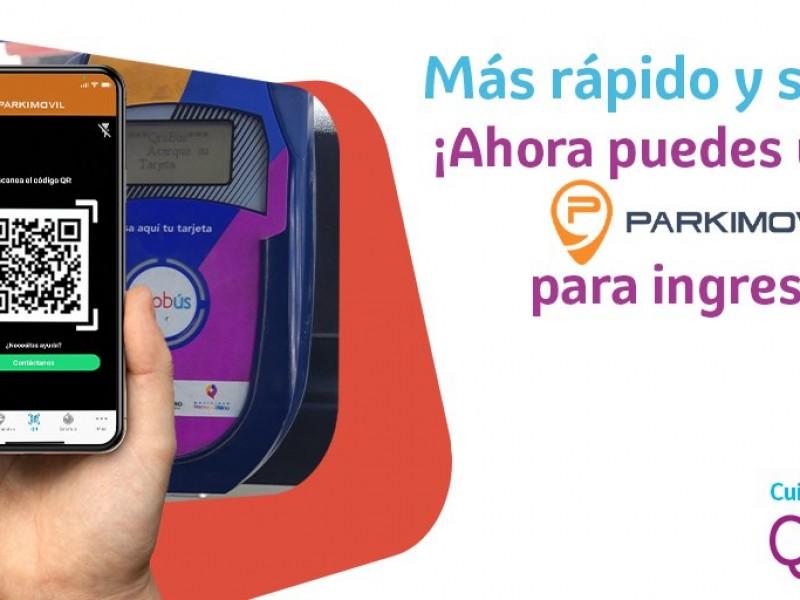 Integra Qrobús herramientas para pago con tarjeta