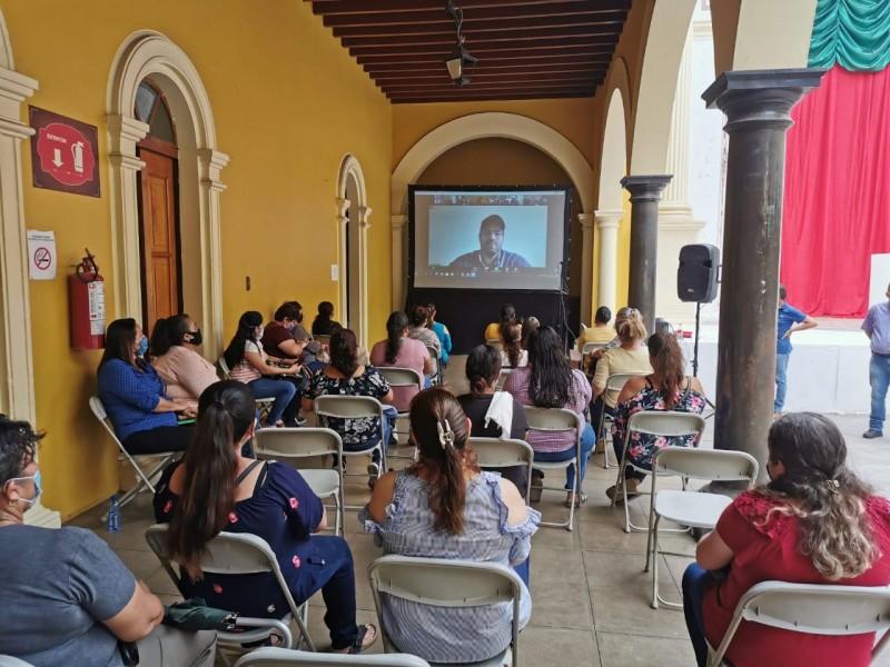 Integran comités para distribución de apoyo emergente alimentario en Álamos