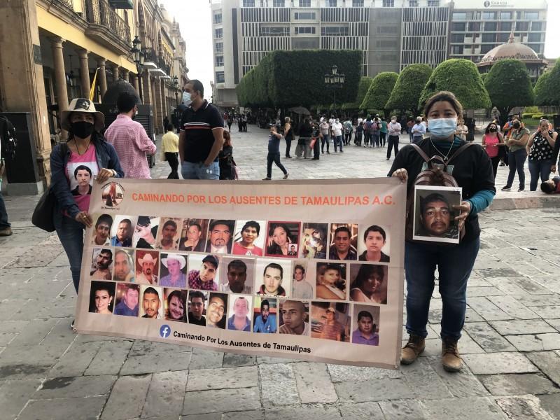 Integrantes del colectivo 'Hasta encontrarte' encuentran restos y son perseguidas