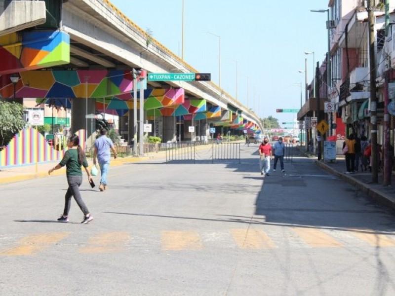 Intensifican en Poza Rica, acciones para reducir la movilidad
