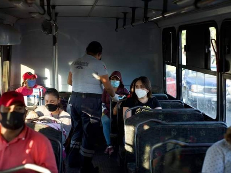 Intensifican inspección de negocios y transporte público en Jacona