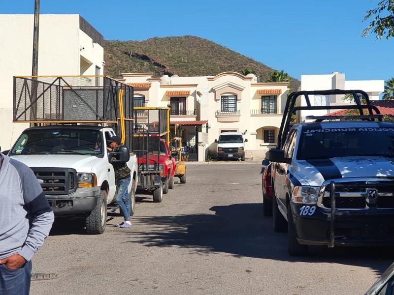 Intentan desalojar a vecinos de Villas del Tular