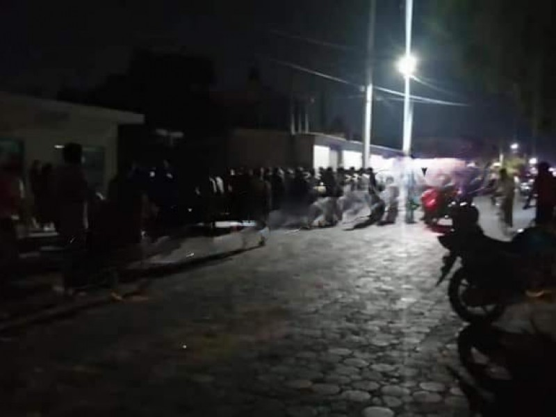 Intentan linchar a dos masculino en Santa María Coapan, Tehuacán