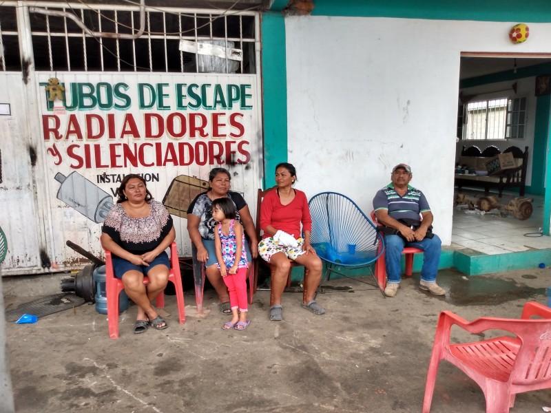 Intento de desalojo en Tehuantepec