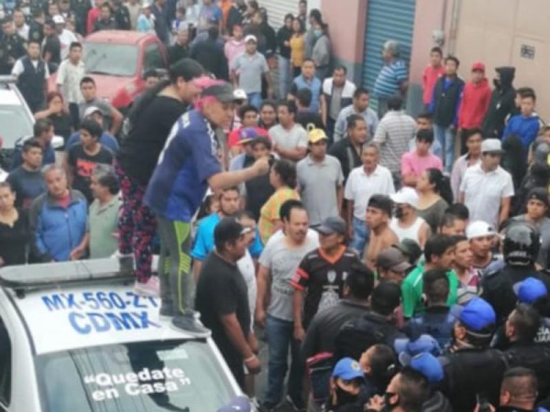 Intento de linchamiento en Cuajimalpa