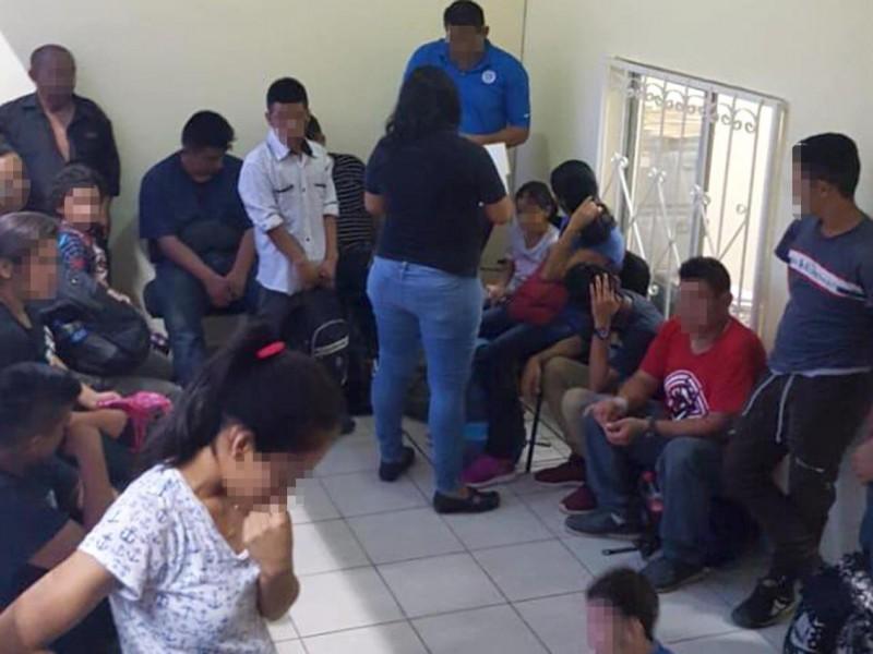 Interceptan a 29 migrantes en Tuxtla Gutiérrez