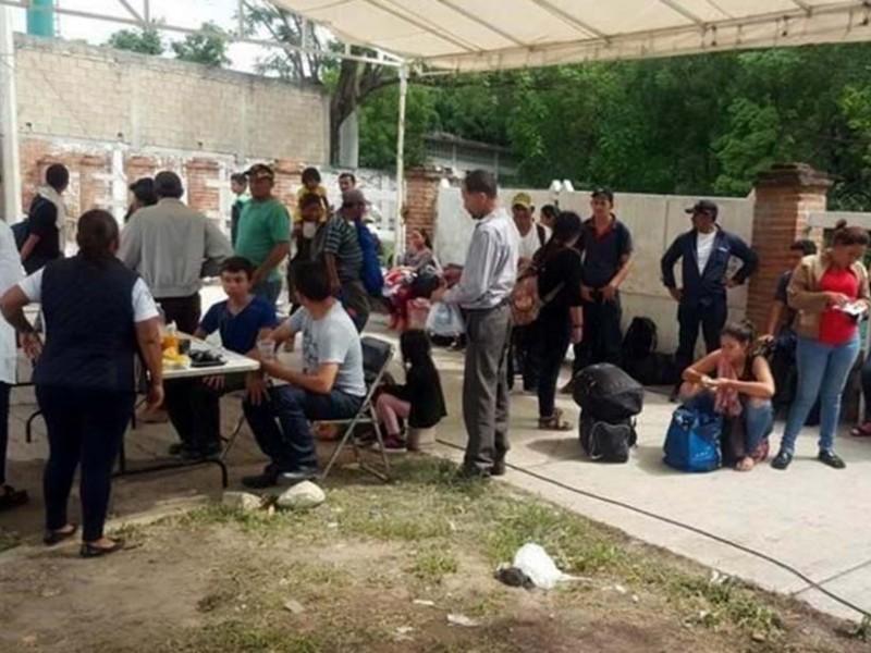 Interceptan nuevamente a migrantes en Tuxtla