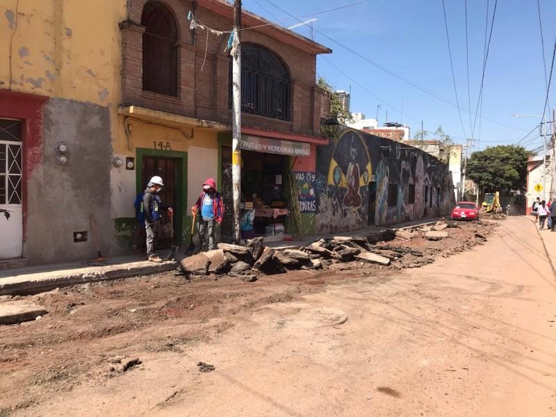 Interminables obras en Hércules: ciudadanos