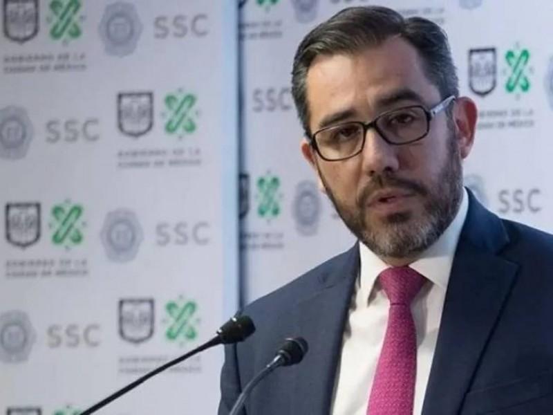 Interpol va tras Jesús Orta, exsecretario de Seguridad de CDMX