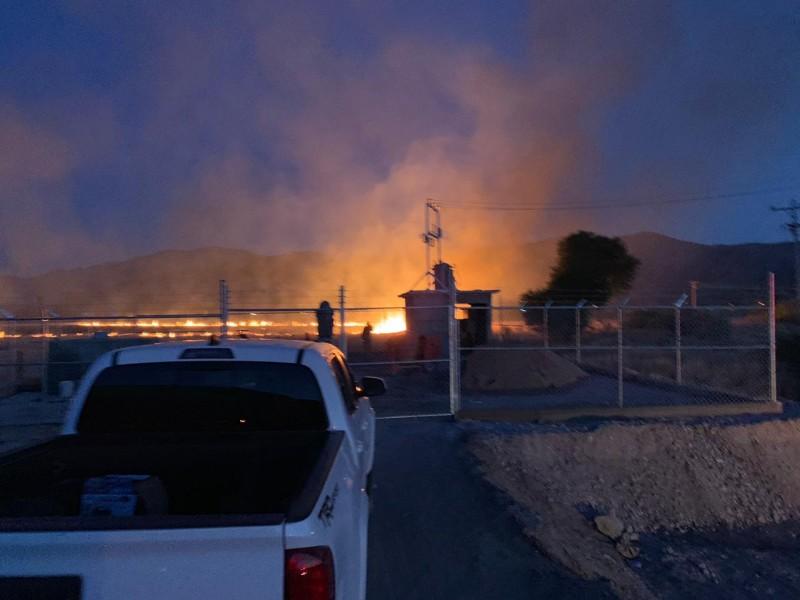 Presentan denuncia por incendio en pozos de Lerdo