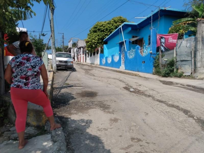 Intransitable, calle Lázaro Cárdenas de la Obrera