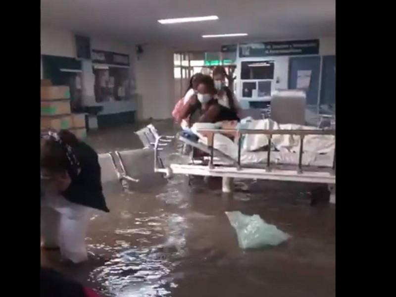 Inundación en IMSS de Tula, Hidalgo, deja 10 pacientes muertos
