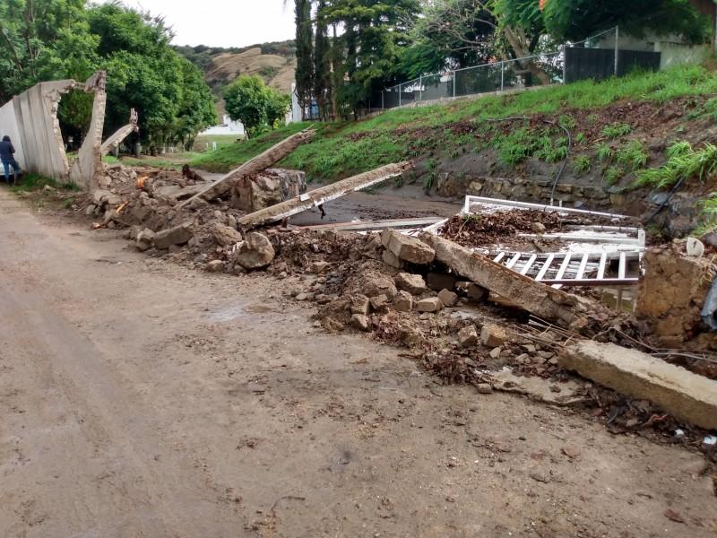 Inundaciones en Bosques de Santa Anita, pese a obras: vecinos
