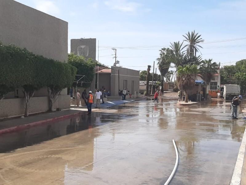 Inundaciones en clínica número 6 del IMSS provocan molestia