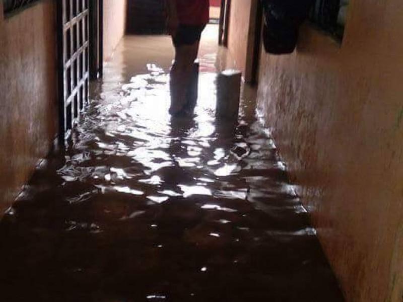 Inundaciones menores en San Cristóbal