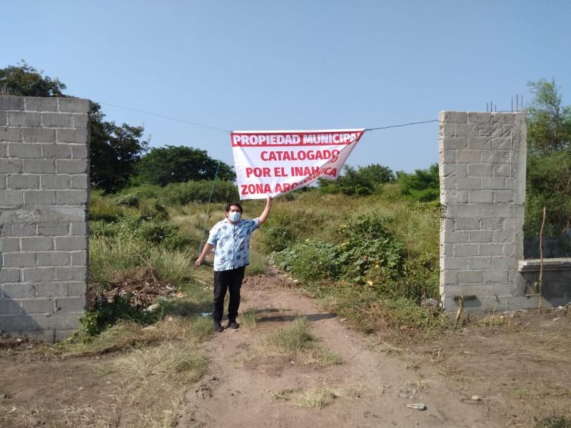 Invaden zona arqueológica de Juchitán para fundar colonia popular