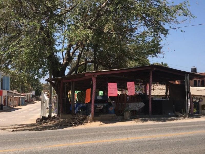 Invasión de área federal causa conflicto en Coacoyul