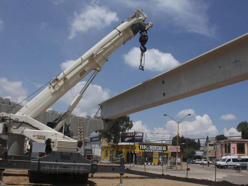 Inversiones en el sector constructor se desplomó en Chiapas