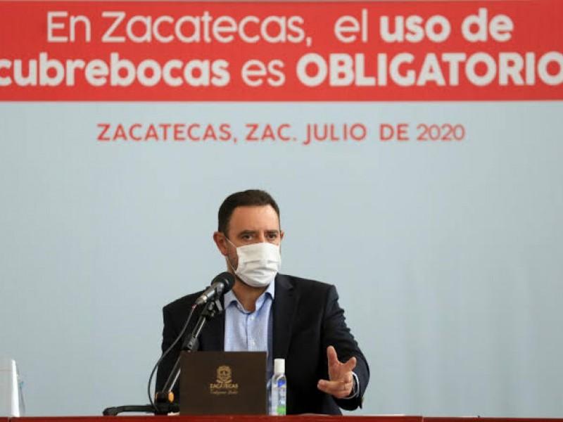 Invertirá Zacatecas 50MDP en adquisición de vacunas COVID: Gobernador