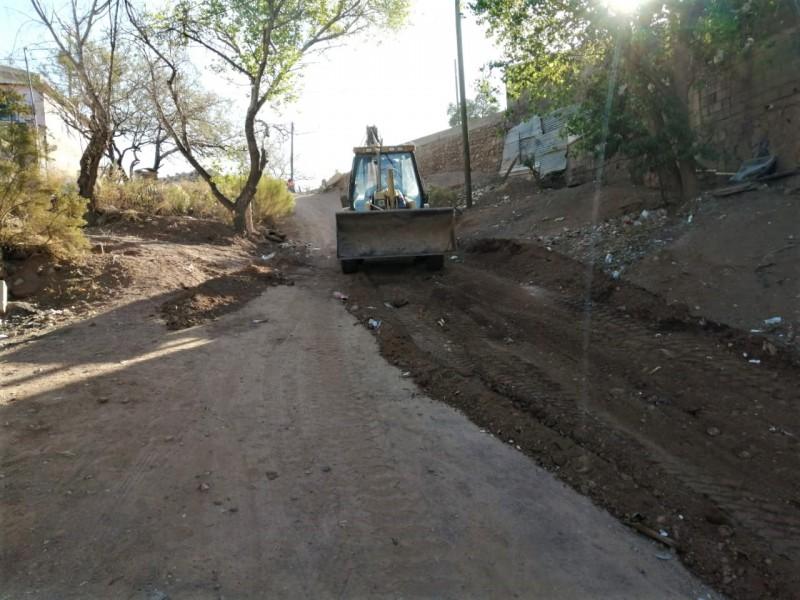 Invertirán casi dos millones de pesos en pavimentación de calle