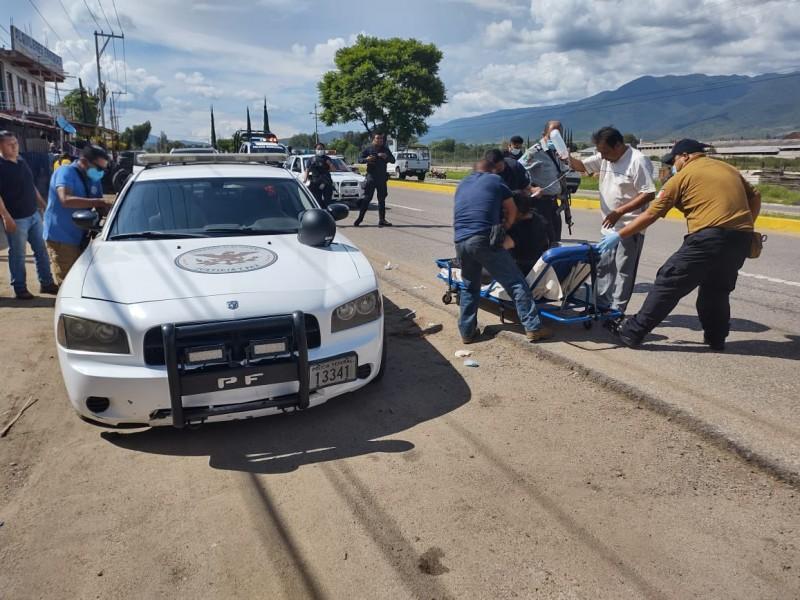 Investiga FGEO hechos violentos en Etla