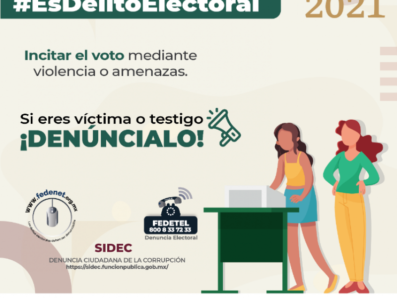 Investiga Fiscalía de Delitos Electorales diversas denuncias