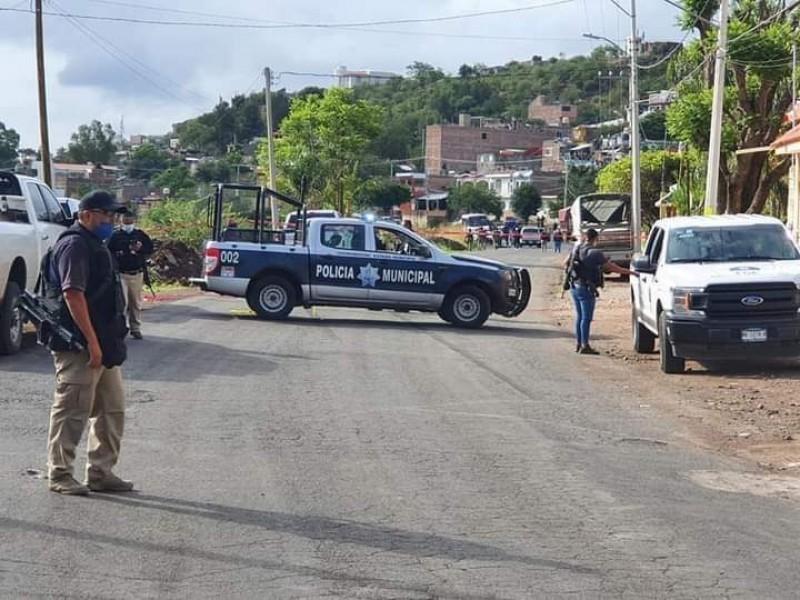 Investiga Fiscalía enfrentamiento entre civiles armados y policías en Jacona