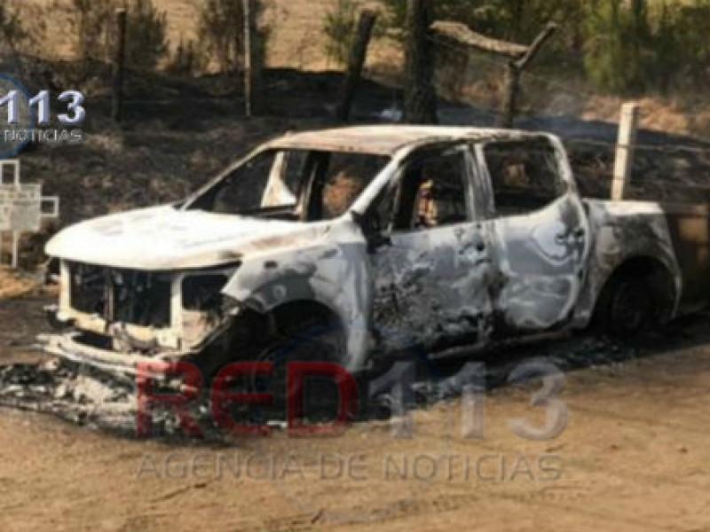 Investiga Fiscalía hallazgo de cinco calcinados en Uruapan