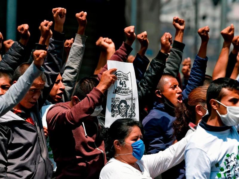 Investigaciones del caso Ayotzinapa avanzan con lentitud: Temoris Grecko