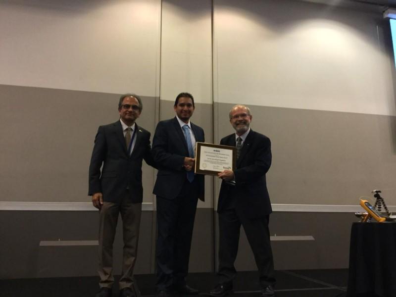Investigador del INAOE, recibe premio en Nueva Zelanda
