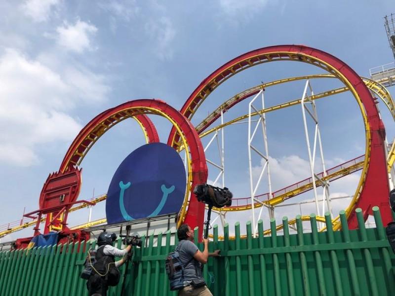 Investigan accidente en la Feria de Chapultepec