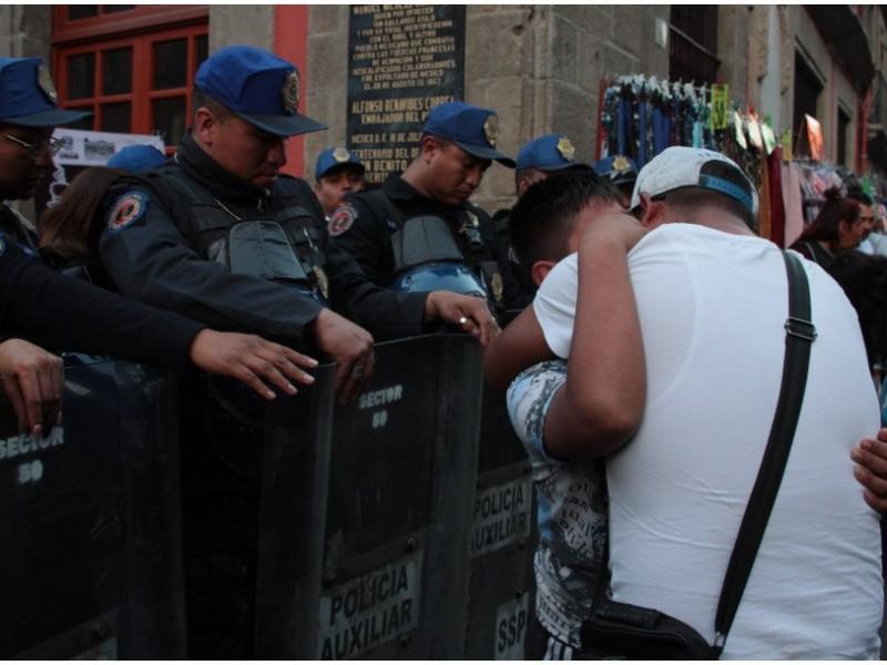 Investigan balacera en el Centro Histórico
