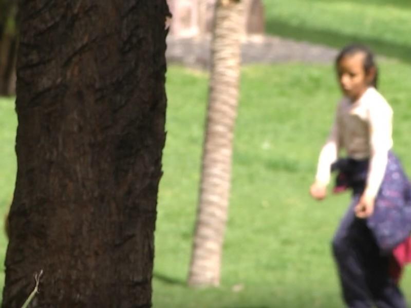 Investigan caso de niñas encontradas en parque Sierra de Álica