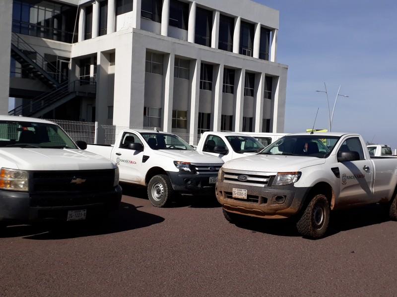 Investigan casos de mal uso de vehículos oficiales