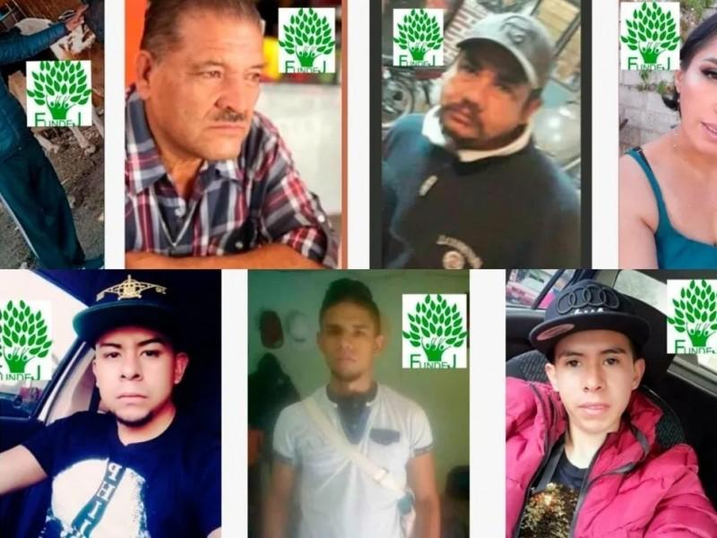 Investigan desaparición de 7 personas en Balcones del Sol