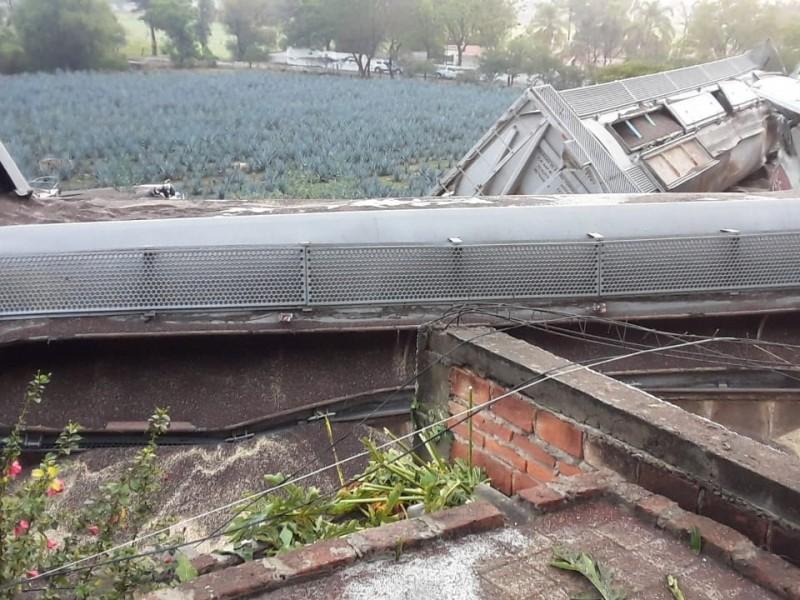 Investigan vandalismo como causa del descarrilamiento de tren en Tala