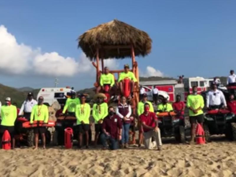 Invierten 18mdp en equipamiento para ofrecer seguridad en playas