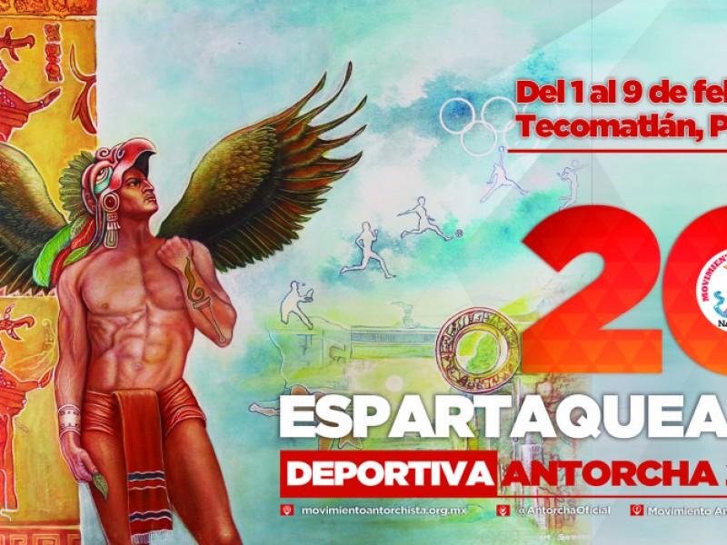 Invita Antorcha Campesina a la Espartaqueada 2020