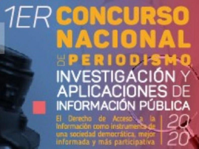 Invita INAI a concurso de periodismo e investigación