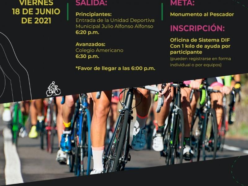 Invitan a celebrar el Dia de la Bicicleta