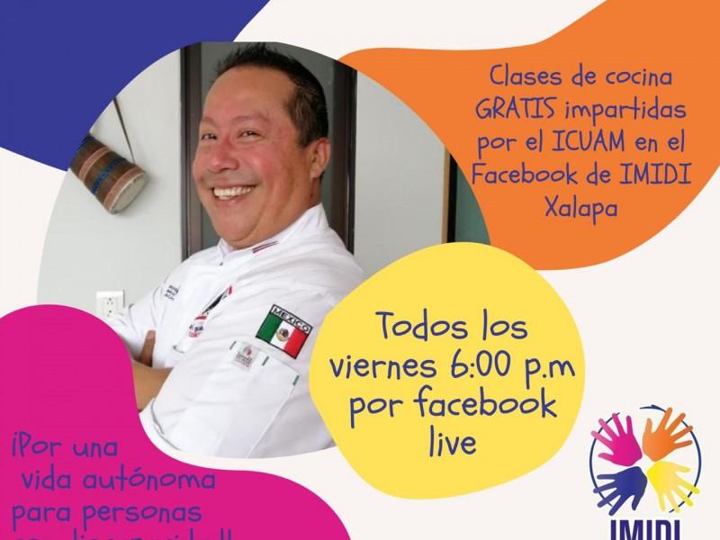 Invitan a clases de cocina virtuales gratis