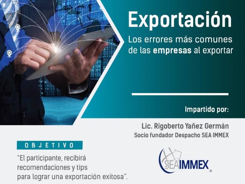 Invitan a curso de capacitación en línea sobre exportaciòn