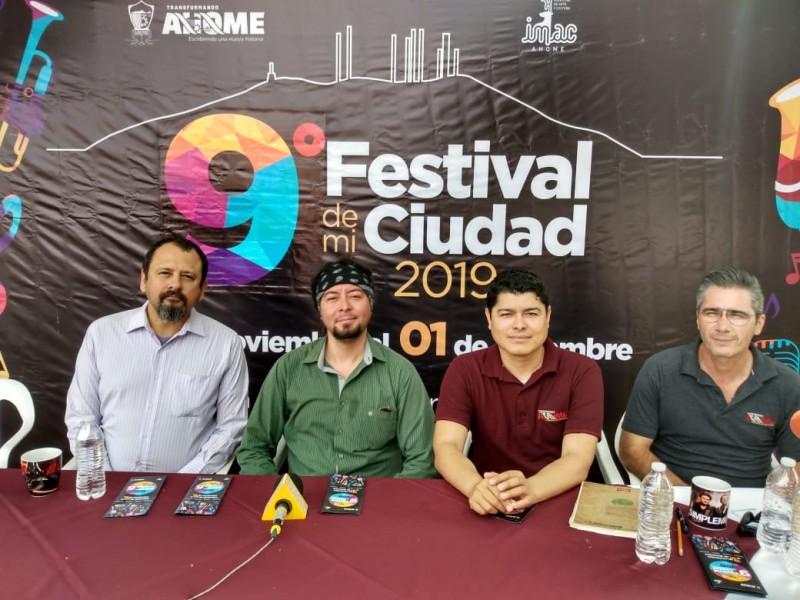 Invitan a Festival de mi Ciudad 2019