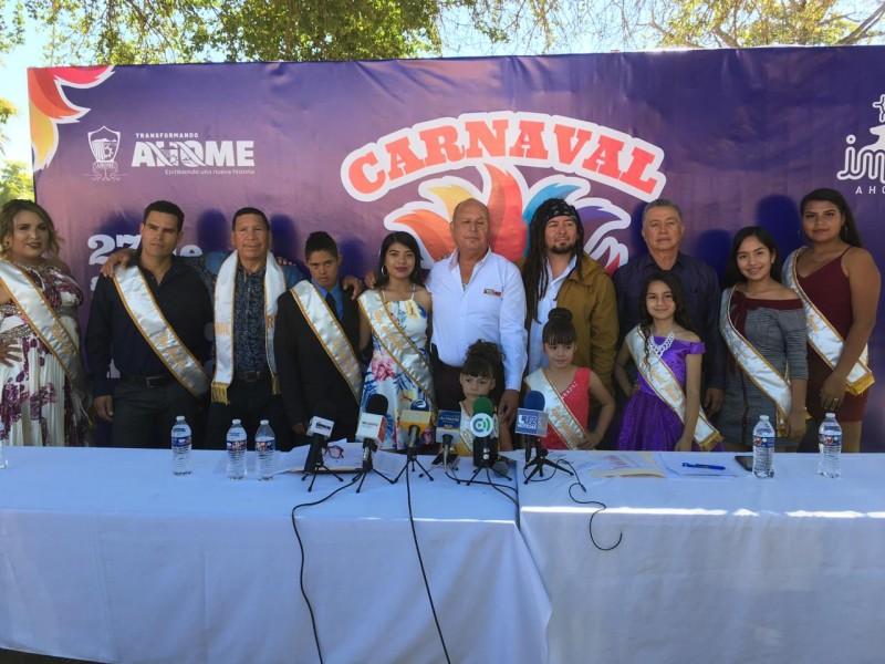 "Invitan a  ""Magia Yoreme"" Carnaval de San Miguel Zapotitlan"