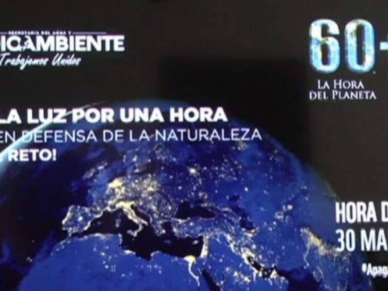 Invitan a participar en la Hora del Planeta