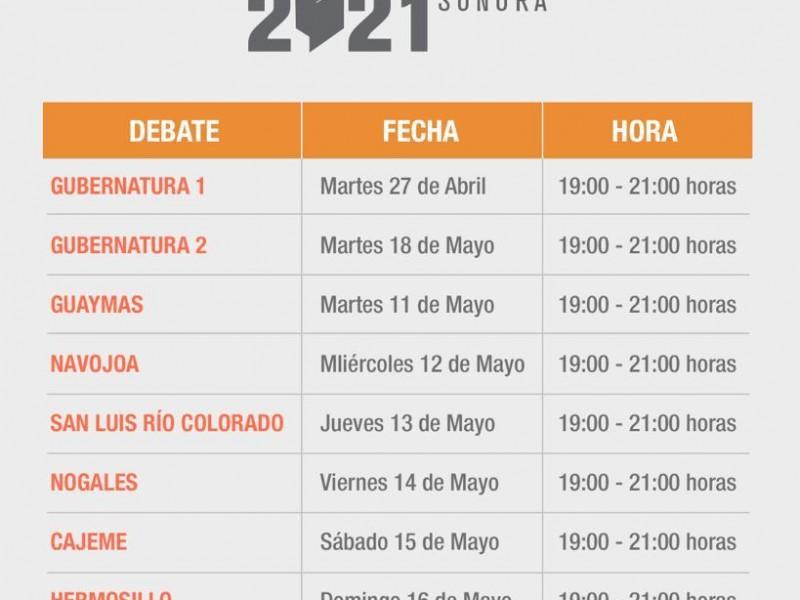 Invitan a participar en los debates a los ciudadanos: IEE