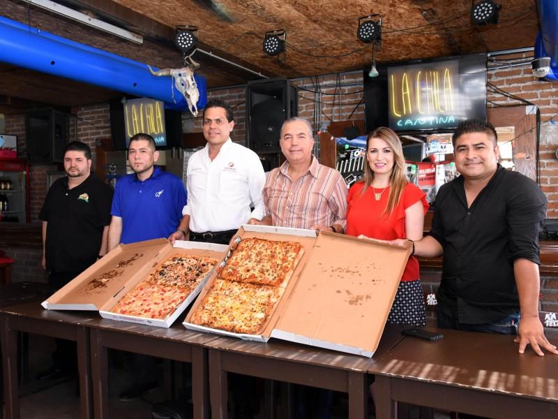 Invitan a Pizza Fest en Hermosillo