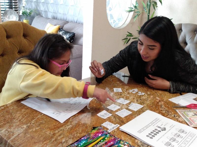 Invitan a realizar actividades didácticas en casa